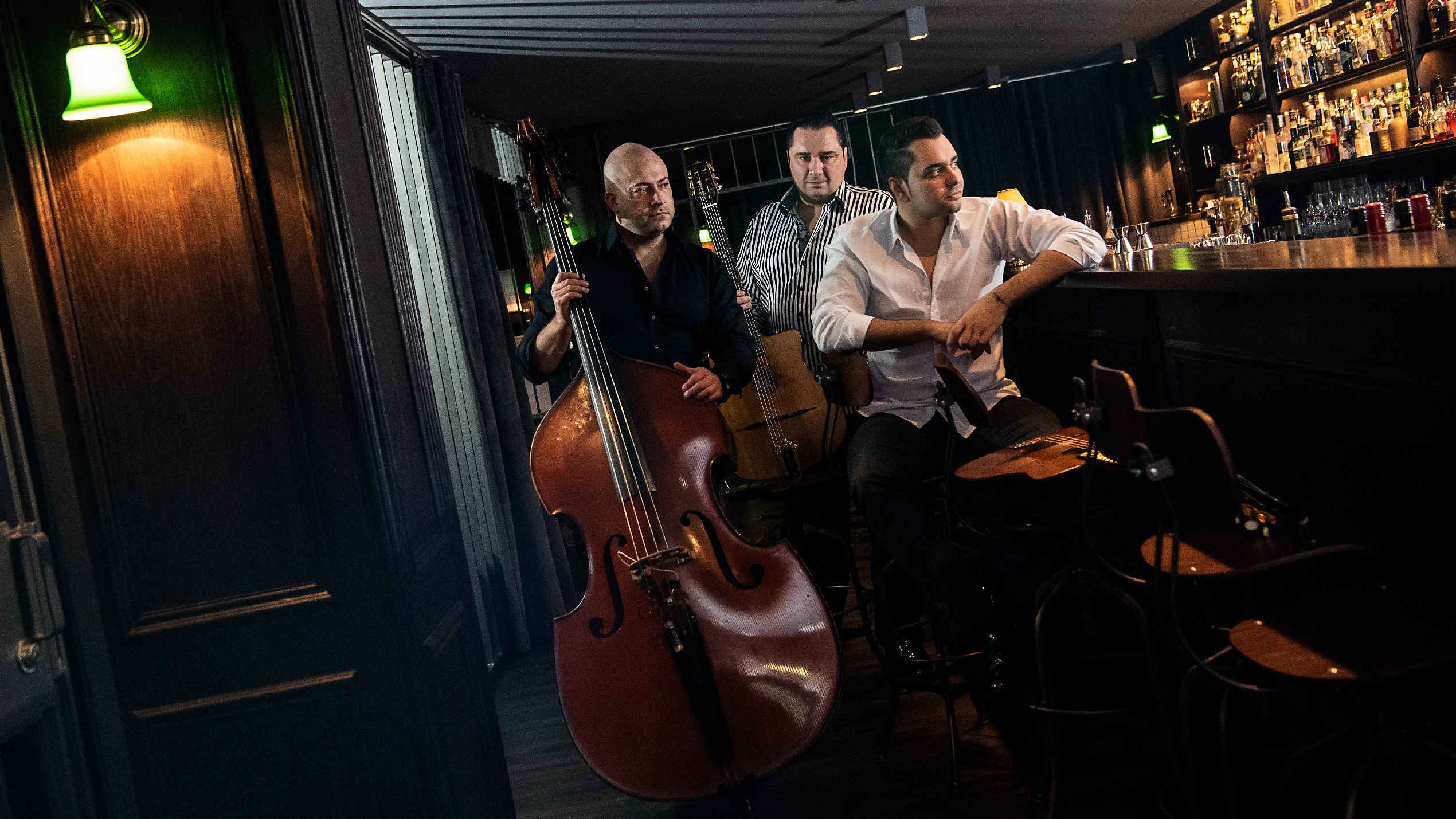 Gismo Graf Trio an der Bar